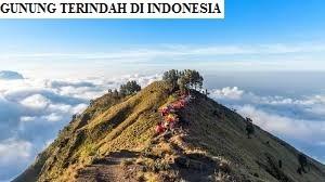 GUNUNG TERINDAH INDONESIA